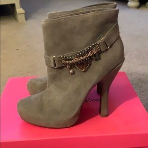 Brand new betsey Johnson heeled boots